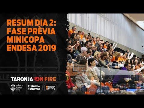 Resumen día 2 – Fase Previa Minicopa Endesa 2019