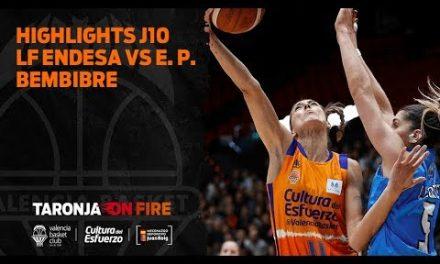 Highlights J10 Liga Femenina Endesa vs Embutidos Pajariel Bembibre