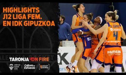 Highlights J12 Liga Femenina Endesa en IDK Gipuzkoa