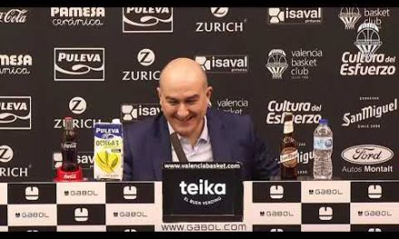 Jaume Ponsarnau Post J13 Liga Endesa vs Movistar Estudiantes