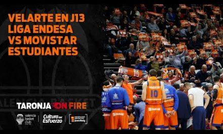Velarte en J13 Liga Endesa vs Movistar Estudiantes