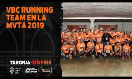 Valencia Basket, presente en la Maratón Valencia Trinidad Alfonso 2019