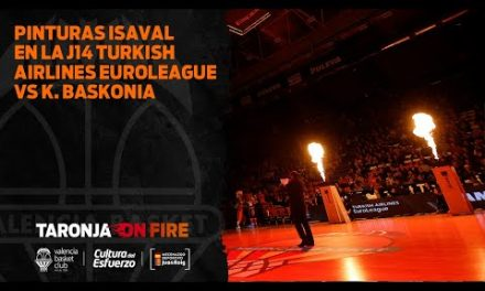 Pinturas ISAVAL en J14 Turkish Airlines Euroleague vs Baskonia