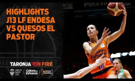 Highlights J13 Liga Femenina Endesa vs Quesos el Pastor