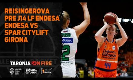 Julia Reisingerova pre J14 LF Endesa vs Spar Citylift Girona