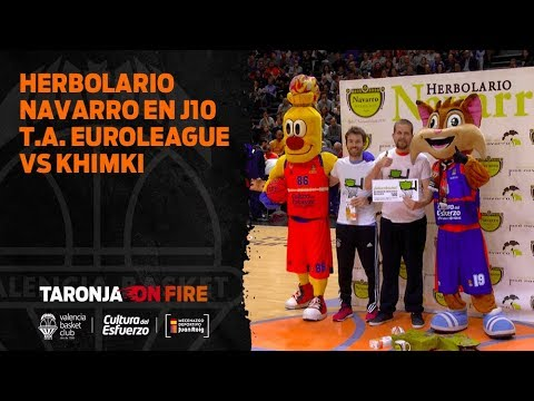 Herbolario Navarro J10 Turkish Airlines Euroleague vs Khimki