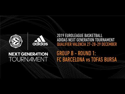 Adidas Next Generation Tournament Valencia 2019: Round 1 Group B – FC Barcelona vs Tofas Bursa