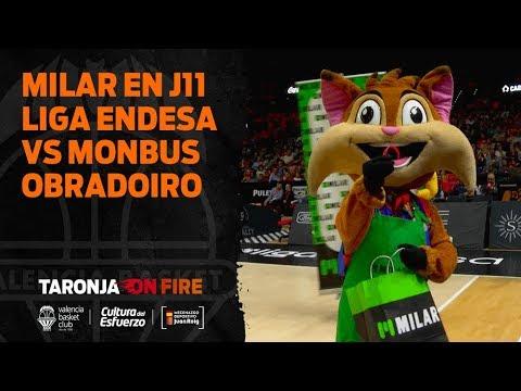 MILAR en J11 Liga Endesa vs Monbus Obradoiro