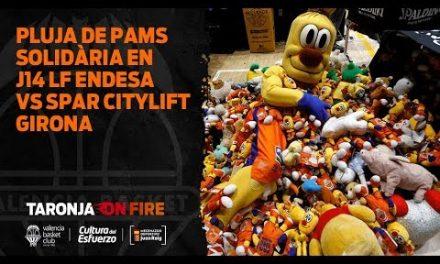 Lluvia solidaria de Pams en J14 LF Endesa vs Spar Citylift Girona