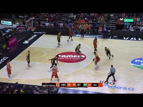 Alberto Abalde vs Iberostar Tenerife J15 Liga Endesa