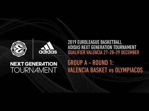 Adidas Next Generation Tournament Valencia 2019: Round 1 Group A – Valencia Basket vs Olympiacos