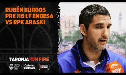 Rubén Burgos pre J16 LF Endesa vs RPK Araski