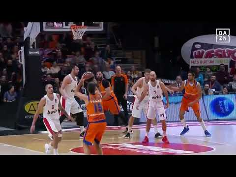 Triple Fernando San Emeterio en Olympiacos J18 Turkish Airlines Euroleague