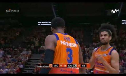 Jordan Loyd buzzer beater 1Q J17 Liga Endesa vs Joventut de Badalona