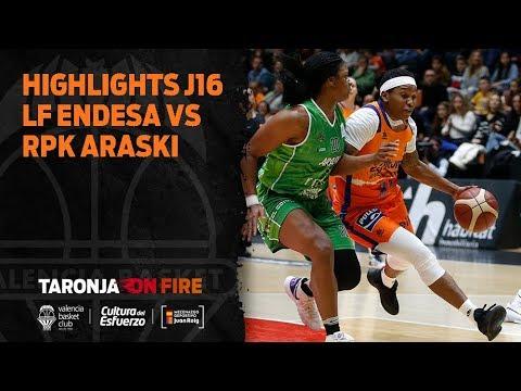 Highlights J16 Liga Femenina Endesa vs RPK Araski