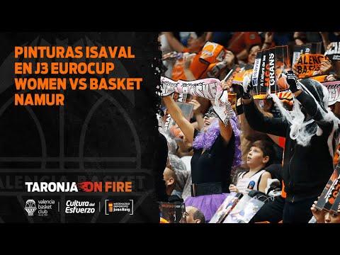 Pinturas Isaval en J3 Eurocup Women vs Basket Namur