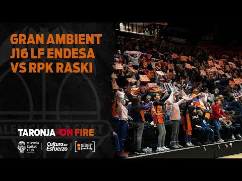 Gran ambiente en la J16 LF Endesa vs RPK Araski