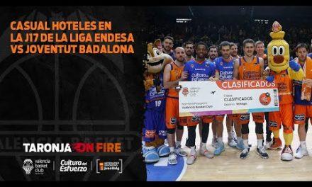 Casual Hoteles en la J17 de la Liga Endesa vs Joventut Badalona
