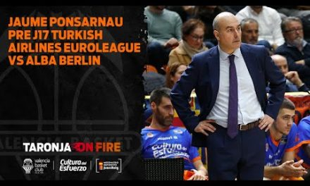 Jaume Ponsarnau Pre J17 Turkish Airlines Euroleague vs Alba Berlin