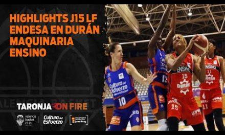 Highlights J15 Liga Femenina Endesa en Durán Maquinaria Ensino