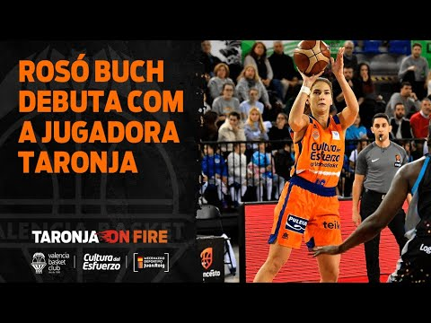 Rosó Buch debuta como jugadora taronja