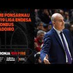 Jaume Ponsarnau Pre J19 Liga Endesa en Monbus Obradoiro