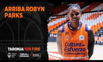 Llegada Robyn Parks a València