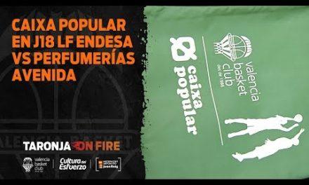 Caixa Popular en J18 LF Endesa vs Perfumerías Avenida