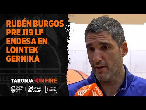 Rubén Burgos pre J19 LF Endesa en Lointek Gernika