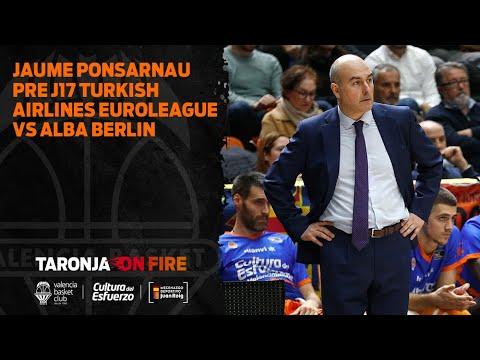 Jaume Ponsarnau Pre J17 Turkish Airlines Euroleague vs Alba Berlin