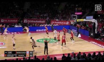 Triple Maurice Ndour en Bayern Munich J24 Turkish Airlines Euroleague