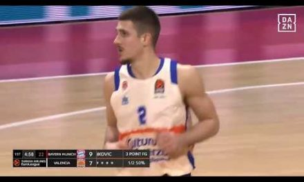 Triple Vanja Marinkovic en Bayern Munich J24 Turkish Airlines Euroleague