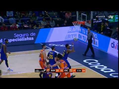 Triple Bojan Dubljevic 2Q Cuartos Copa del Rey vs FC Barcelona