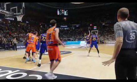 Triple al límite Bojan Dubljevic Cuartos Copa del Rey vs FC Barcelona