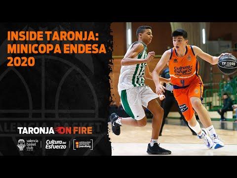 Inside taronja: Minicopa Endesa 2020