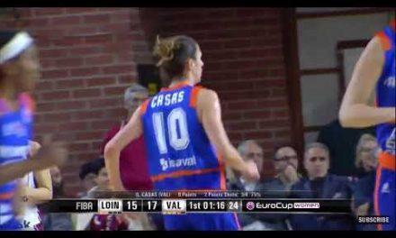Queralt Casas entrada vs Lointek Gernika P1 Round of 8 EuroCup Women