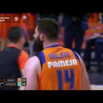 2+1 en MATE de Bojan Dubljevic vs Maccabi Fox Tel Aviv J25 Turkish Airlines Euroleague
