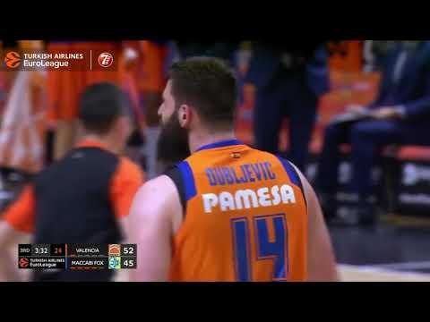 2+1 en MATE de Bojan Dubljevic vs Maccabi Fox Tel Aviv J25 Turkish Airlines Euroleague