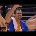 Buzzer beater Fernando San Emeterio vs Maccabi Fox Tel Aviv J25 Turkish Airlines Euroleague