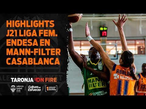 Highlights J21 Liga Femenina Endesa en Mann-Filter Casablanca