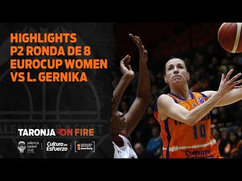 Highlights P2 Ronda de 8 Eurocup Women vs Lointek Gernika