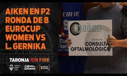 Aiken en P2 Ronda de 8 Eurocup Women vs Lointek Gernika