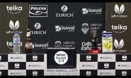 RP Rubén Burgos post J22 Liga Femenina Endesa vs Ciudad de La Laguna