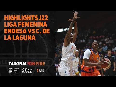 Highlights J22 Liga Femenina Endesa vs Ciudad de la Laguna