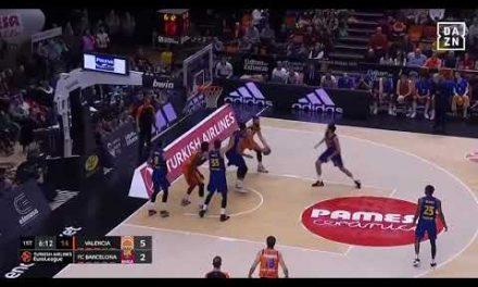 Triple Joan Sastre J23 Turkish Airlines Euroleague vs FC Barcelona
