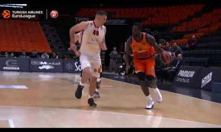 Mate de Maurice Ndour vs AX Armani Exchange Milan J28 Turkish Airlines Euroleague