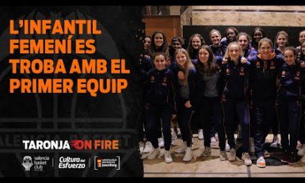 Encuentro del primer equipo con el Infantil Minicopa Salamanca