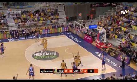 Triple Vanja Marinkovic en Herbalife Gran Canaria J23 Liga Endesa