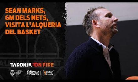 Sean Marks, GM de Brooklyn Nets, visita L'Alqueria del Basket