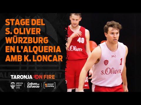 Stage de preparación de S. Oliver Wurzburg con Kresimir Loncar en L'Alqueria del Basket